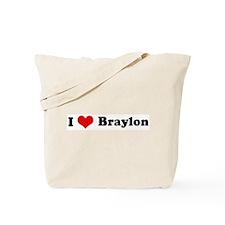 I Love Braylon Tote Bag