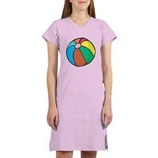 Beach Ball Belly Women's Nightshirt