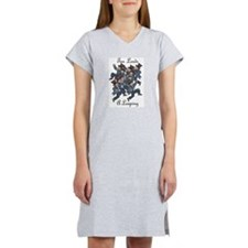 Tenth Day of Christmas Women's Nightshirt