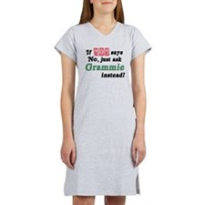 Just Ask Grammie! Women's Nightshirt