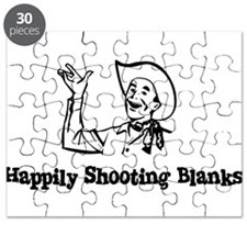 Happily Shooting Blanks Puzzle