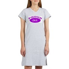 Proud Oma (purple) Women's Nightshirt