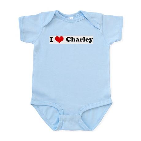 I Love Charley Infant Creeper