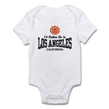 I'd Rather Be In Los Angeles Infant Bodysuit