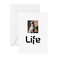 Dog Life Greeting Card