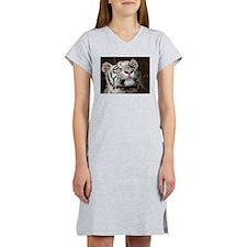 White Tiger Women's Nightshirt