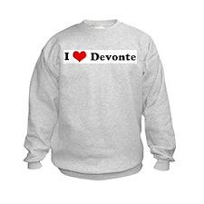 I Love Devonte Sweatshirt