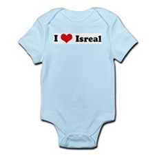 I Love Isreal Infant Creeper