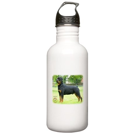 Rottweiler 8T039D-0 Stainless Water Bottle 1.0L