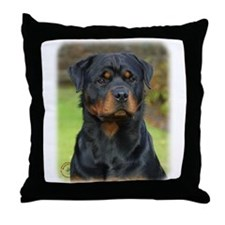 Rottweiler 9W044D-073 Throw Pillow