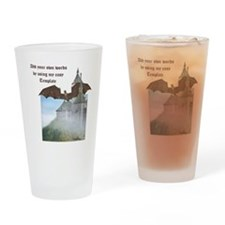 Dragon Castle Drinking Glass