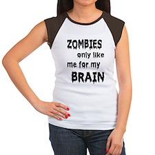 Zombies Like My Brains Tee