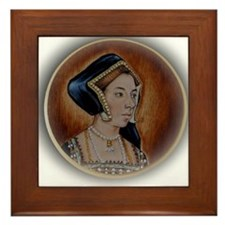 Anne Boleyn Framed Tile