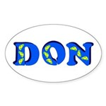 Don Sticker (Oval)