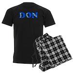 Don Men's Dark Pajamas