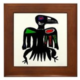 The Raven Framed Tile