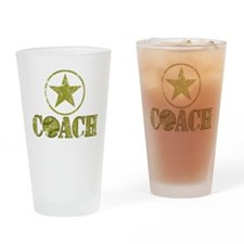 Baseball Coach - General's Star Drinking Glass