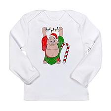 Christmas Buddha Claus Long Sleeve Infant T-Shirt