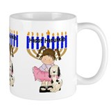 Happy Hanukkah Friends Mug