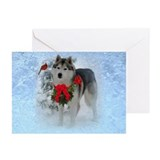 Siberian Husky Christmas Cards (Pk of 20)