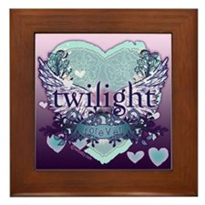 Twilight Forever Aqua Framed Tile