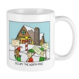 occupy the north pole mug