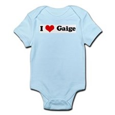 I Love Gaige Infant Creeper