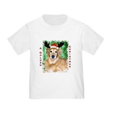 Golden Christmas with Antlers T