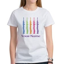 Personalized Oboe Women's T-Shirt