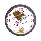 Ladies Nefertiti Wall Clock