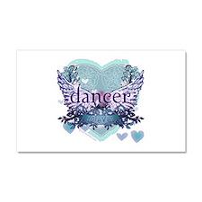 dancer forever by DanceShirts.com Car Magnet 20 x