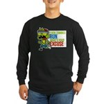 computer crashes Women's Long Sleeve T-Shirt