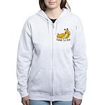 Banana Slug Babe Women's Zip Hoodie
