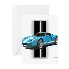 New Racing Car Greeting Cards (Pk of 10)
