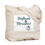 Jane Austen Boofheads and Bloviators Tote Bag