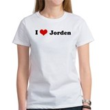 I Love Jorden Tee