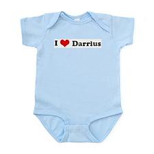 I Love Darrius Infant Creeper