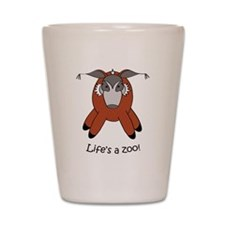 Red river hog Shot Glass