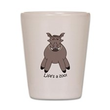 Warthog Shot Glass