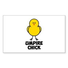 Umpire Chick Decal