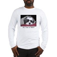 Cute Shih Tzu Dog Long Sleeve T-Shirt