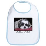 Cute Shih Tzu Dog Bib