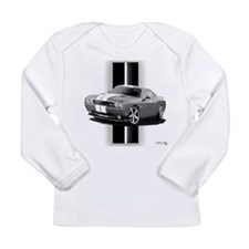 New Challenger Gray Long Sleeve Infant T-Shirt