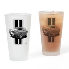 New Challenger Gray Drinking Glass