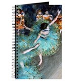 Degas - Green Dancer 1879 Journal