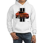 New Camaro Red Hooded Sweatshirt