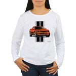 New Camaro Red Women's Long Sleeve T-Shirt