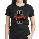 New Camaro Red Women's Dark T-Shirt