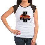 New Camaro Red Women's Cap Sleeve T-Shirt