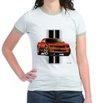 New Camaro Red Jr. Ringer T-Shirt